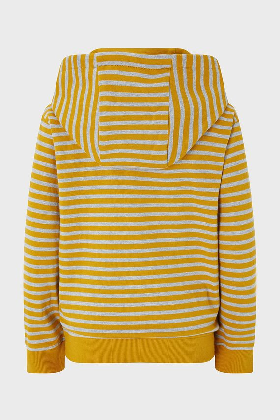 Детский желтый свитшот TEGAN TIGER FACE STR