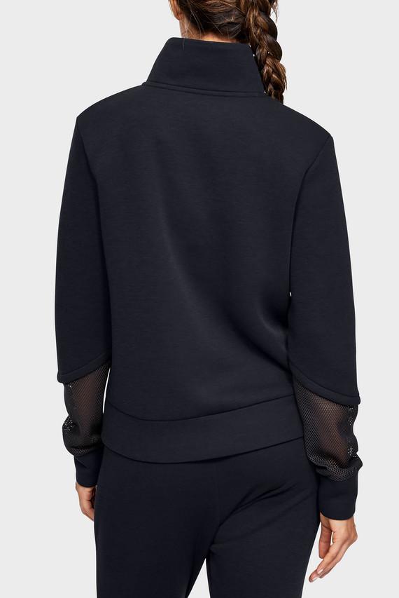 Женская черная спортивная кофта UNSTOPPABLE MOVE LIGHT 1/2 ZIP MOCK