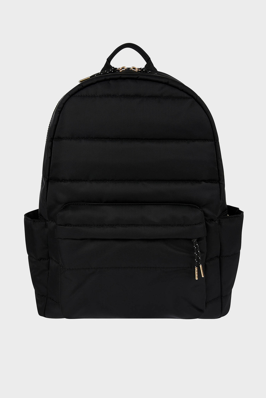 Женский черный рюкзак PUFFER BACKPACK
