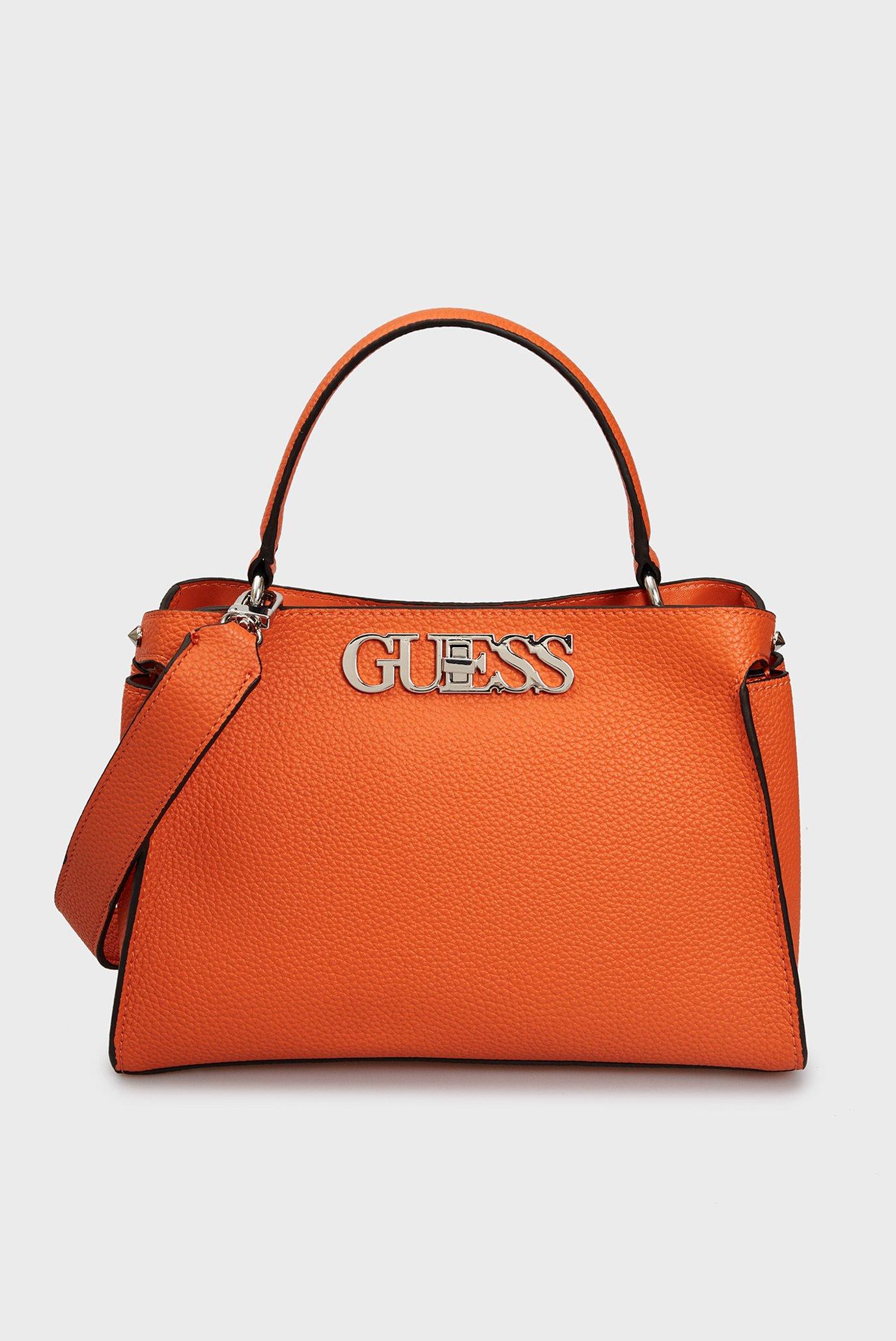 Жіноча помаранчева сумка через плече HONEY CHAIN CROSSOVER 1