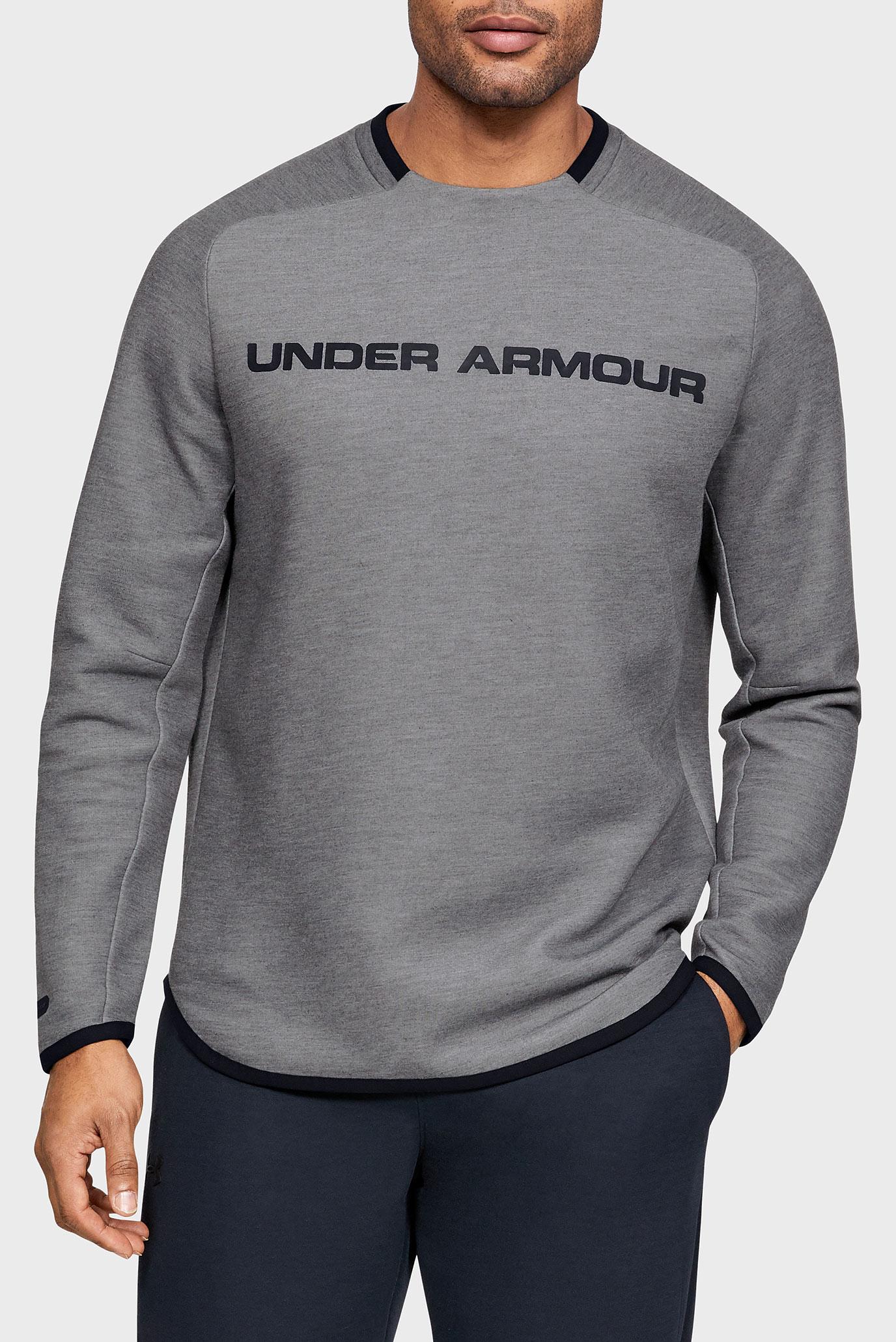 Купить Мужской серый свитшот MOVE LIGHT GRAPHIC CREW Under Armour Under Armour 1345775-002 – Киев, Украина. Цены в интернет магазине MD Fashion