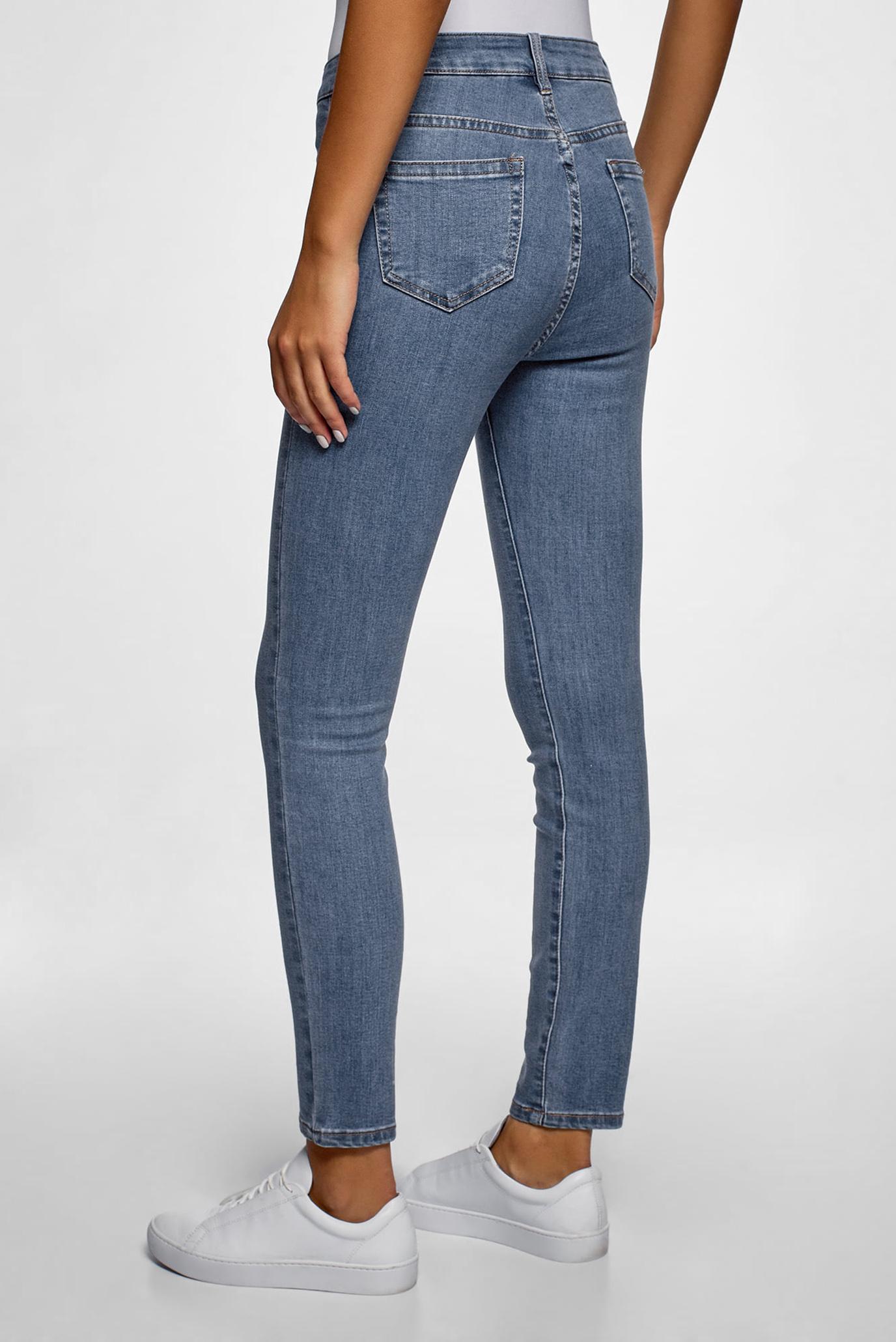 Женские синие джинсы Oodji