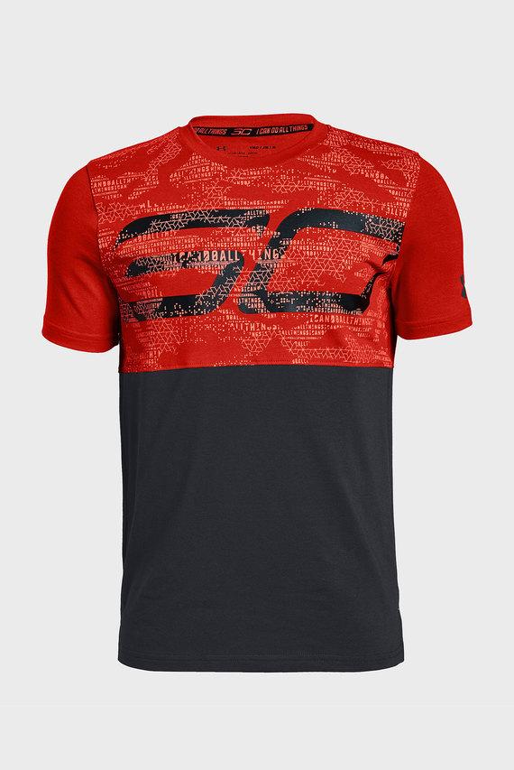 Детская красная футболка SC30 Key Item Tee