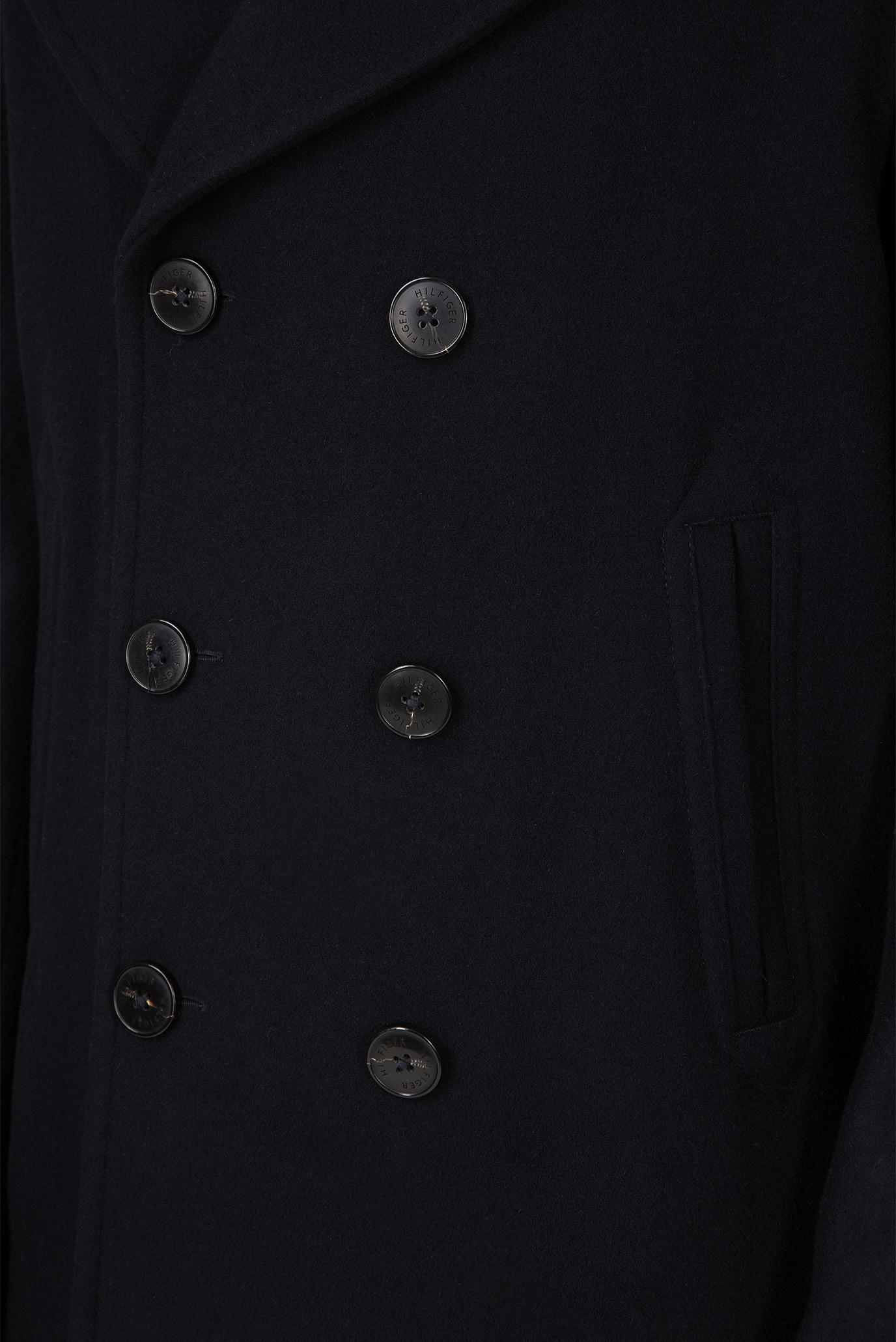 Купить Мужское темно-синее полупальто Tommy Hilfiger Tommy Hilfiger MW0MW08645 – Киев, Украина. Цены в интернет магазине MD Fashion