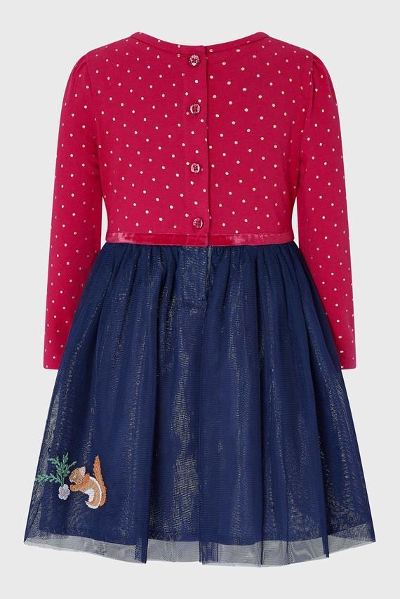 Детское розовое платье BABY TESSA DISCO