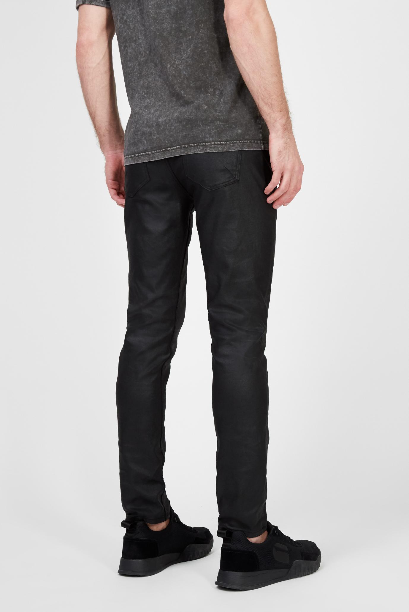 Мужские черные джинсы Morty 8691 coated Tigha