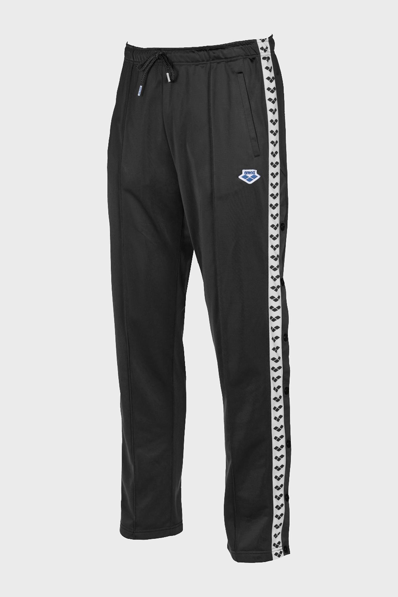 Мужские черные спортивные брюки SPLIT SIDE TEAM PANT Arena