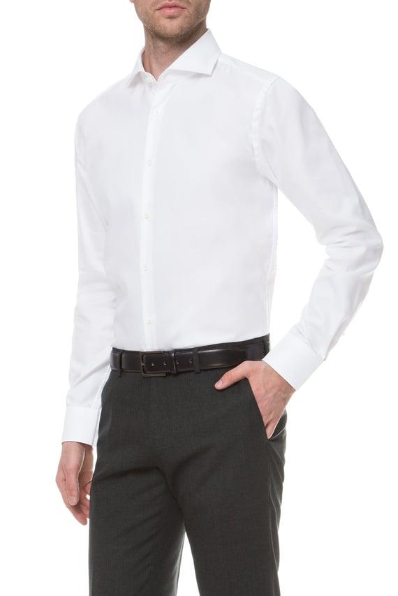 Мужская белая рубашка Slim Fit Tailored