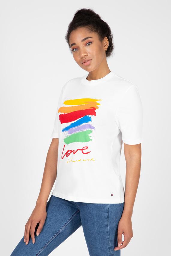 Женская белая футболка TORA OPEN NK