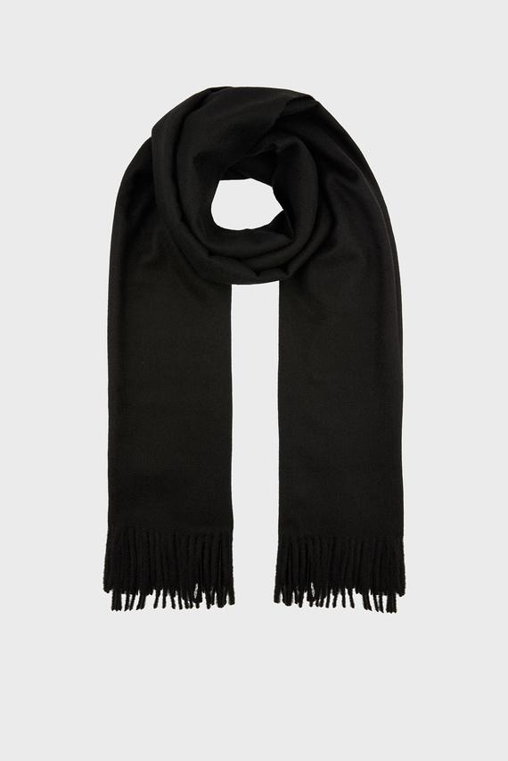 Женский черный шарф HOLLY SUPERSOFT BLANKET