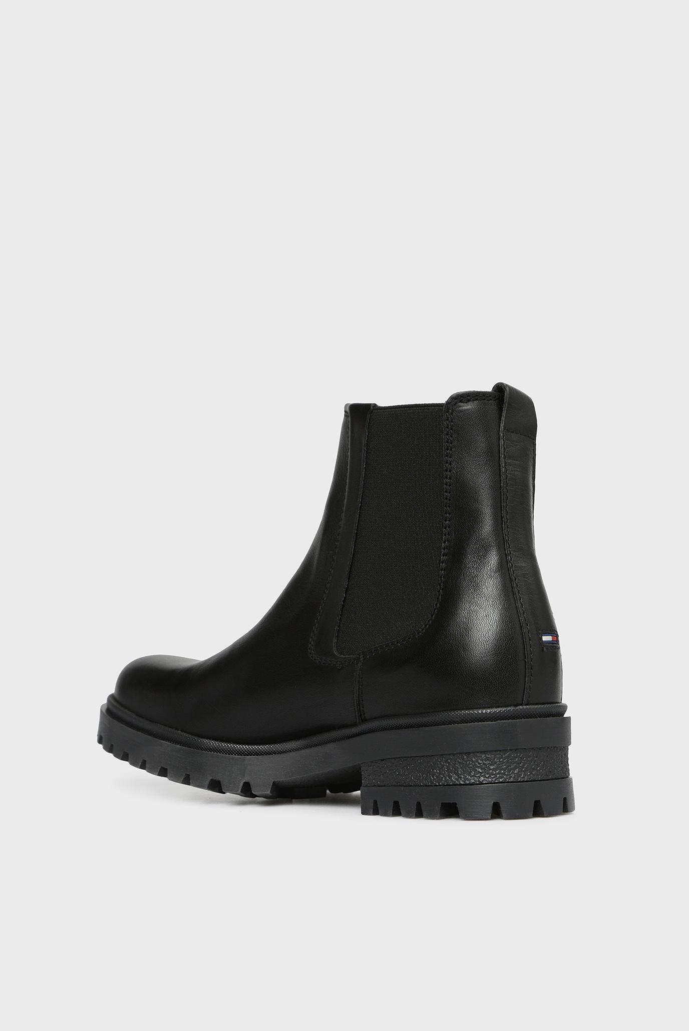 Купить Женские черные кожаные челси ESSENTIAL CLEATED CHELSEA BOOT Tommy Hilfiger Tommy Hilfiger EN0EN00242 – Киев, Украина. Цены в интернет магазине MD Fashion