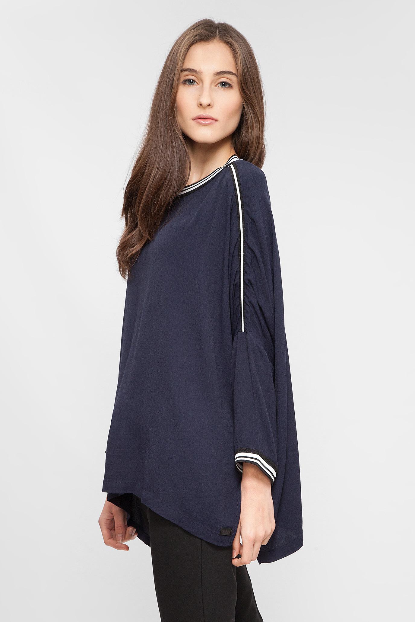 Купить Женская темно-синяя блуза Replay Replay W2931 .000.82892 – Киев, Украина. Цены в интернет магазине MD Fashion
