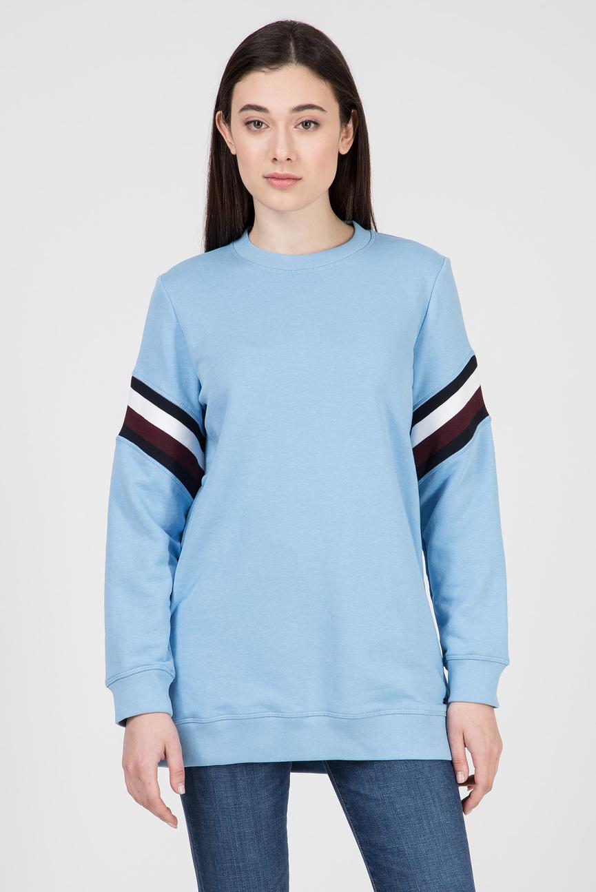 Женский голубой свитшот JULIE