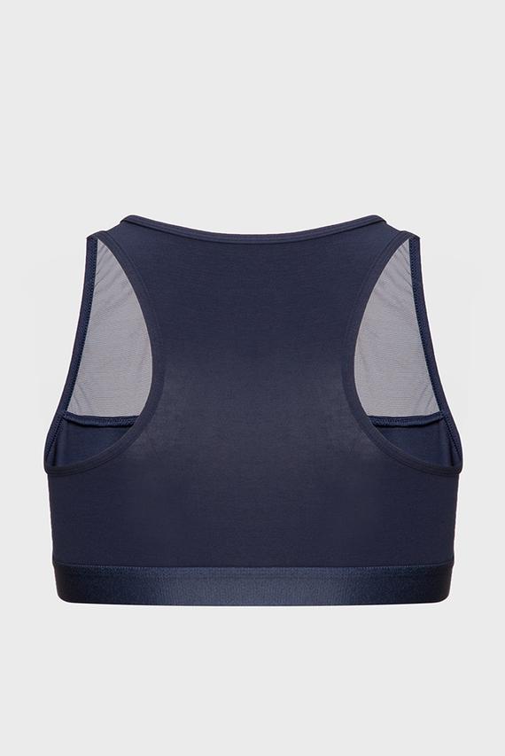 Женский темно-синий спортивный топ BRALETTE