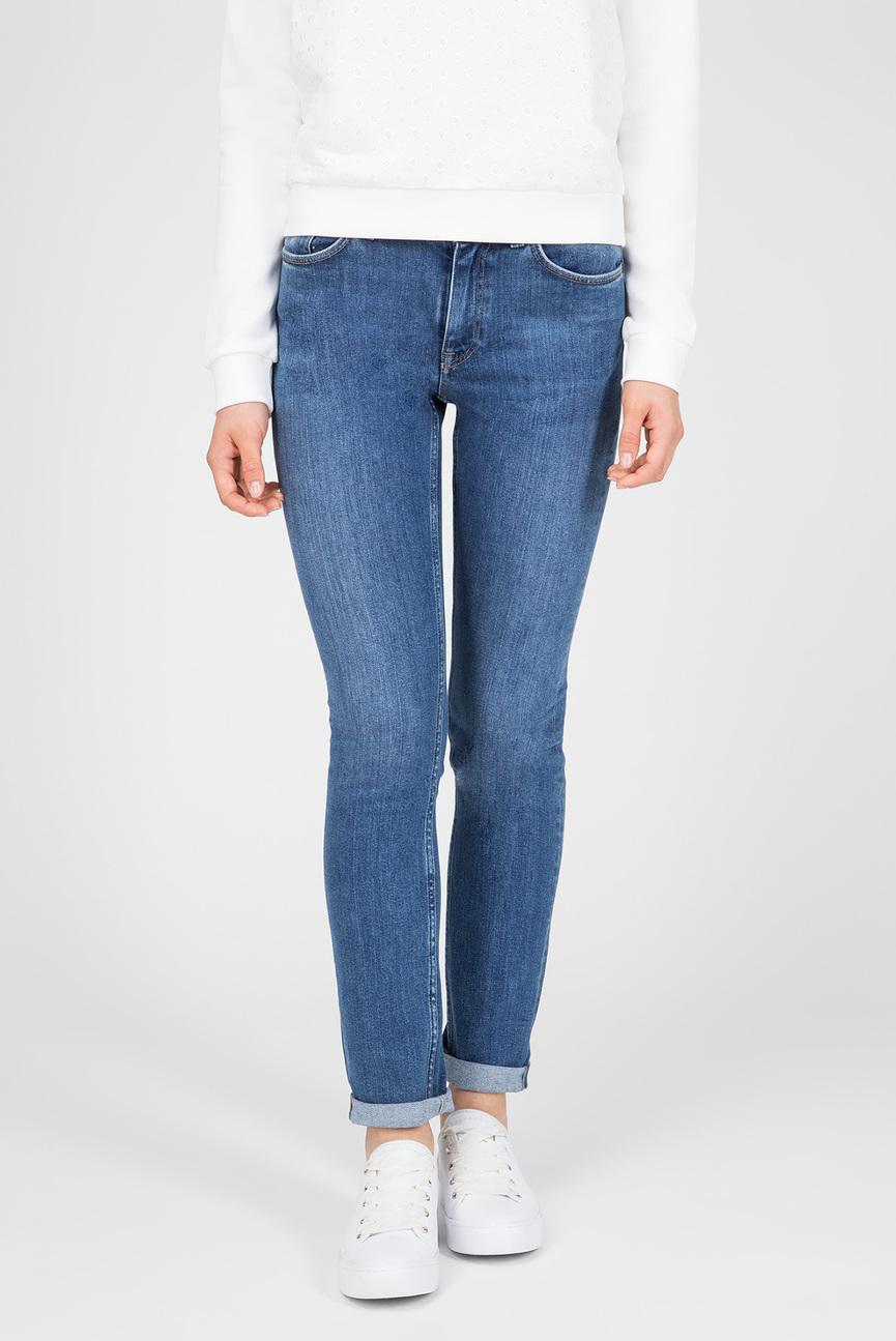 Женские голубые джинсы SLIM CLASSIC JEANS
