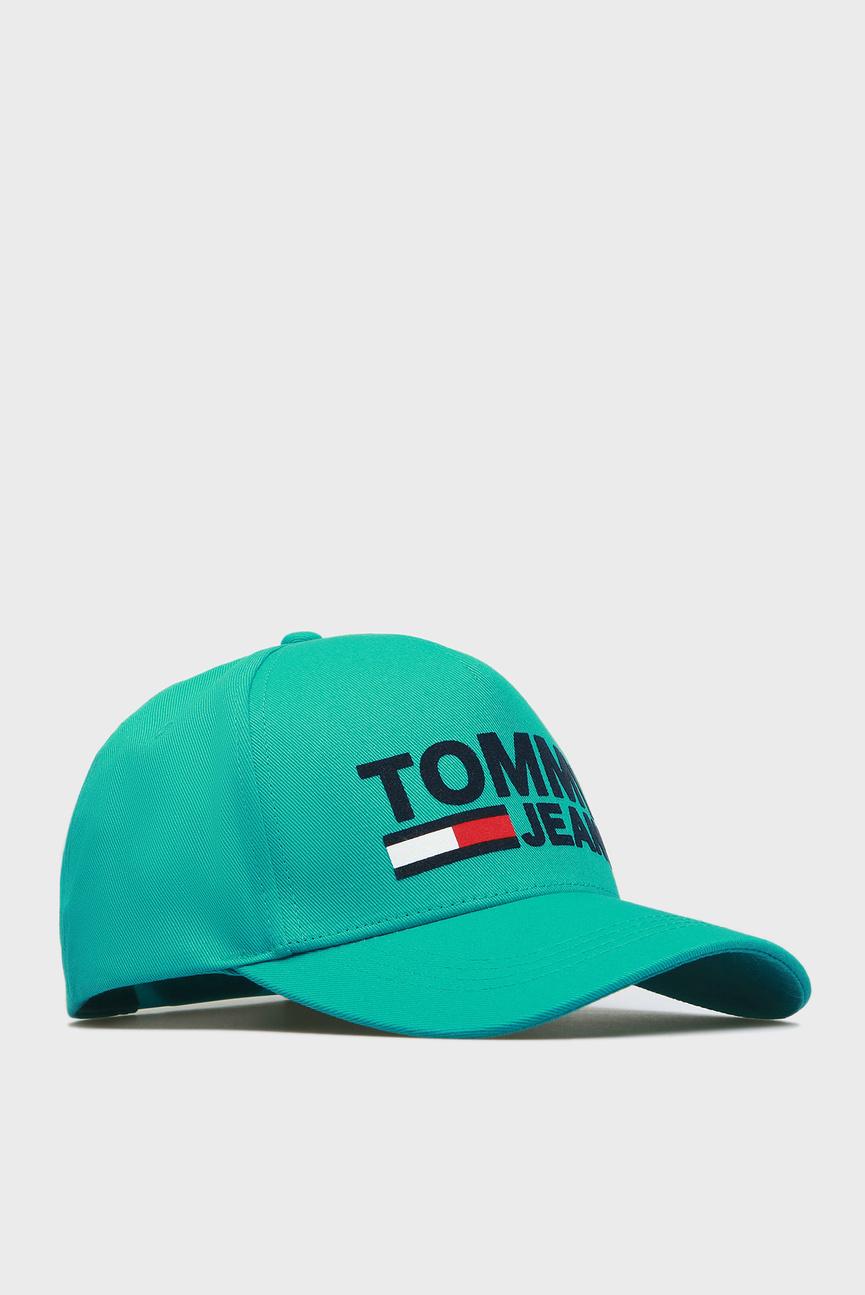 Мужская зеленая кепка TJM FLOCK