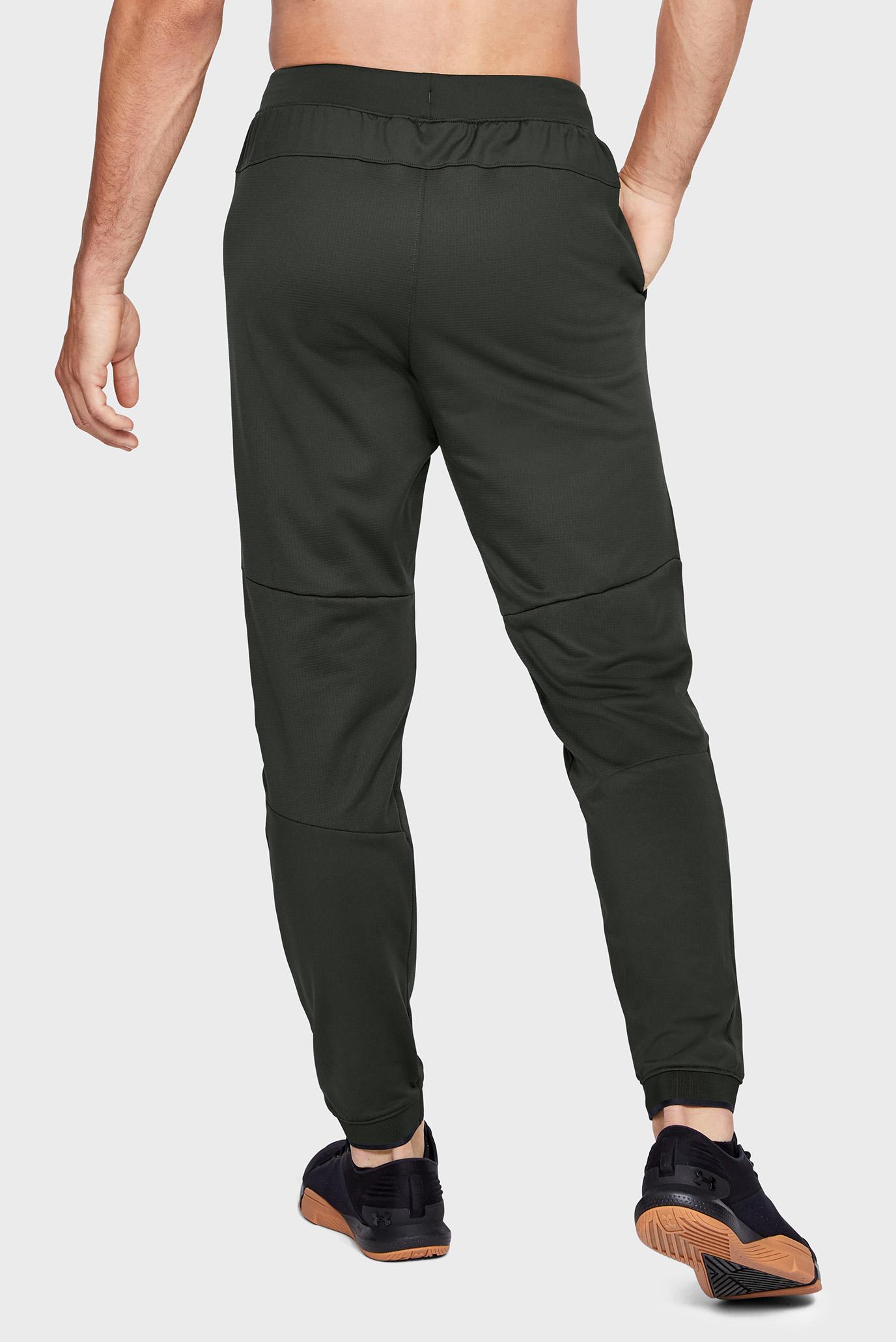 Мужские зеленые спортивные брюки Gametime Fleece Under Armour