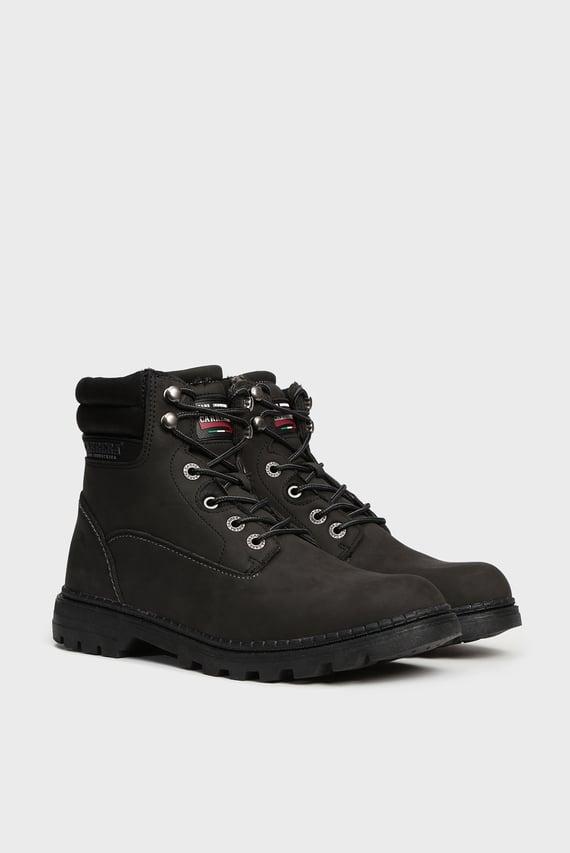 Мужские черные ботинки TENNESSE NBK