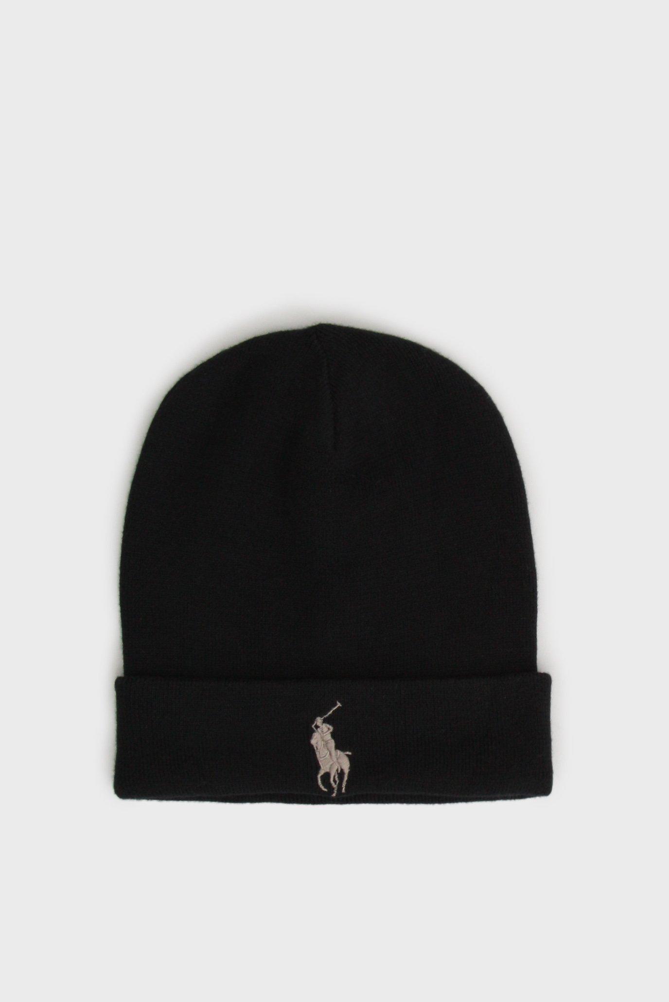 385f7cef9852 Купить Мужская черная шапка Polo Ralph Lauren Polo Ralph Lauren ...