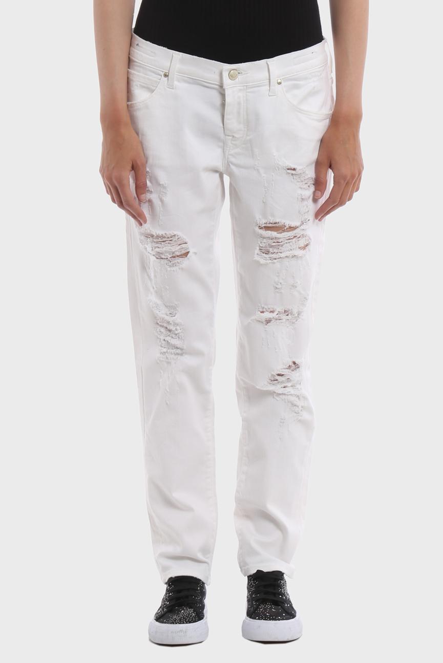 Женские белые джинсы KAREN