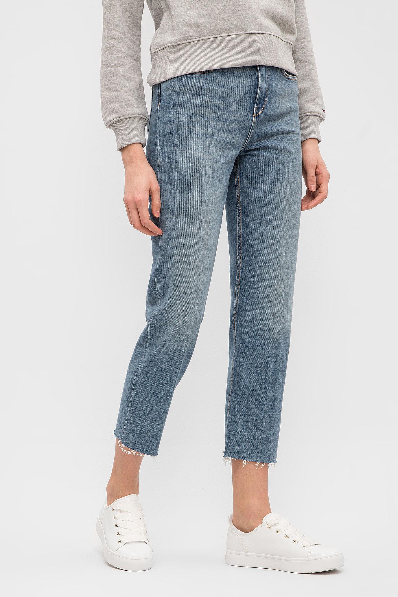 Купить Женские синие джинсы SLIM STRAIGHT HW CROPPED VIVI Tommy Hilfiger Tommy Hilfiger WW0WW21087 – Киев, Украина. Цены в интернет магазине MD Fashion