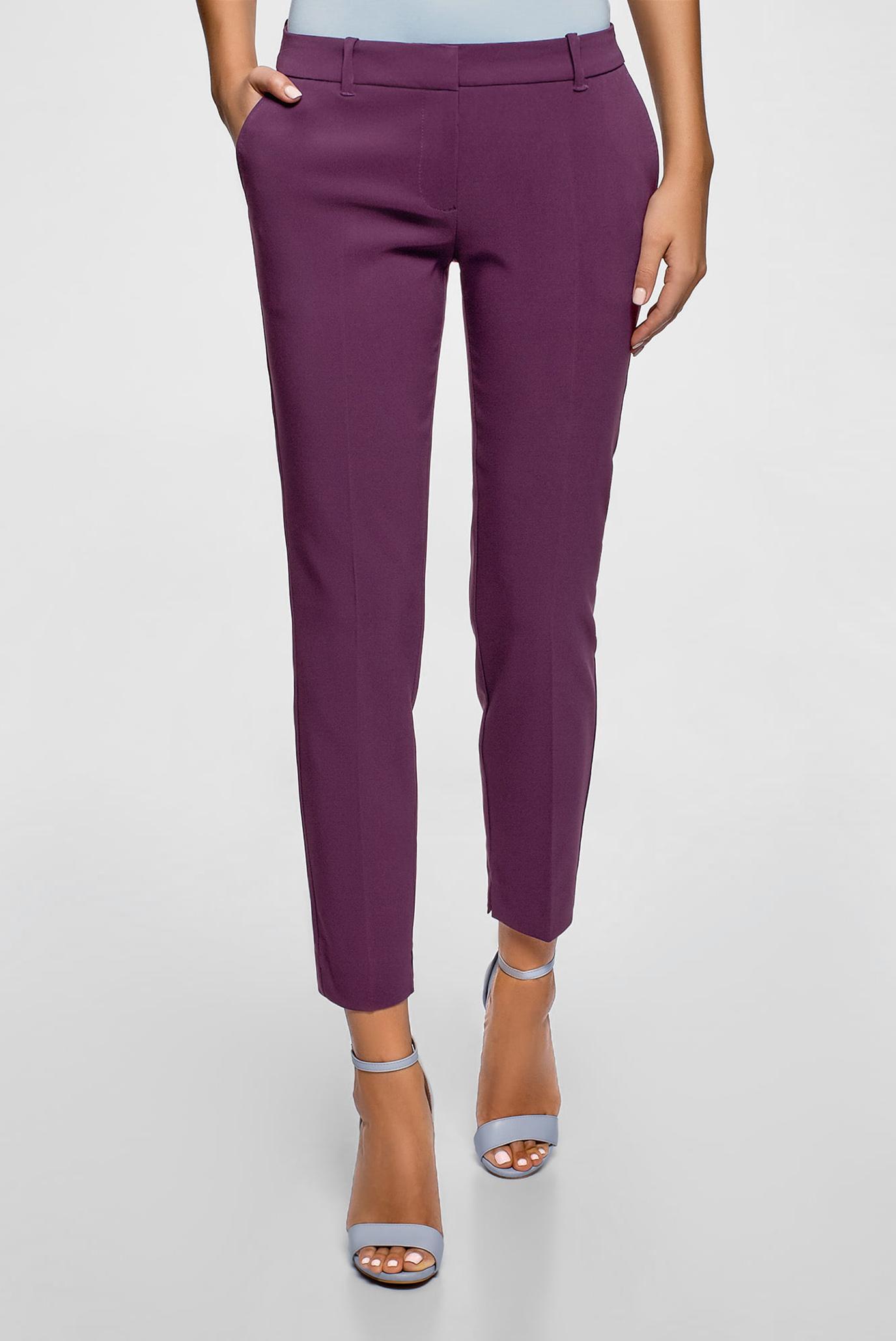 Жіночі фіолетові брюки 1