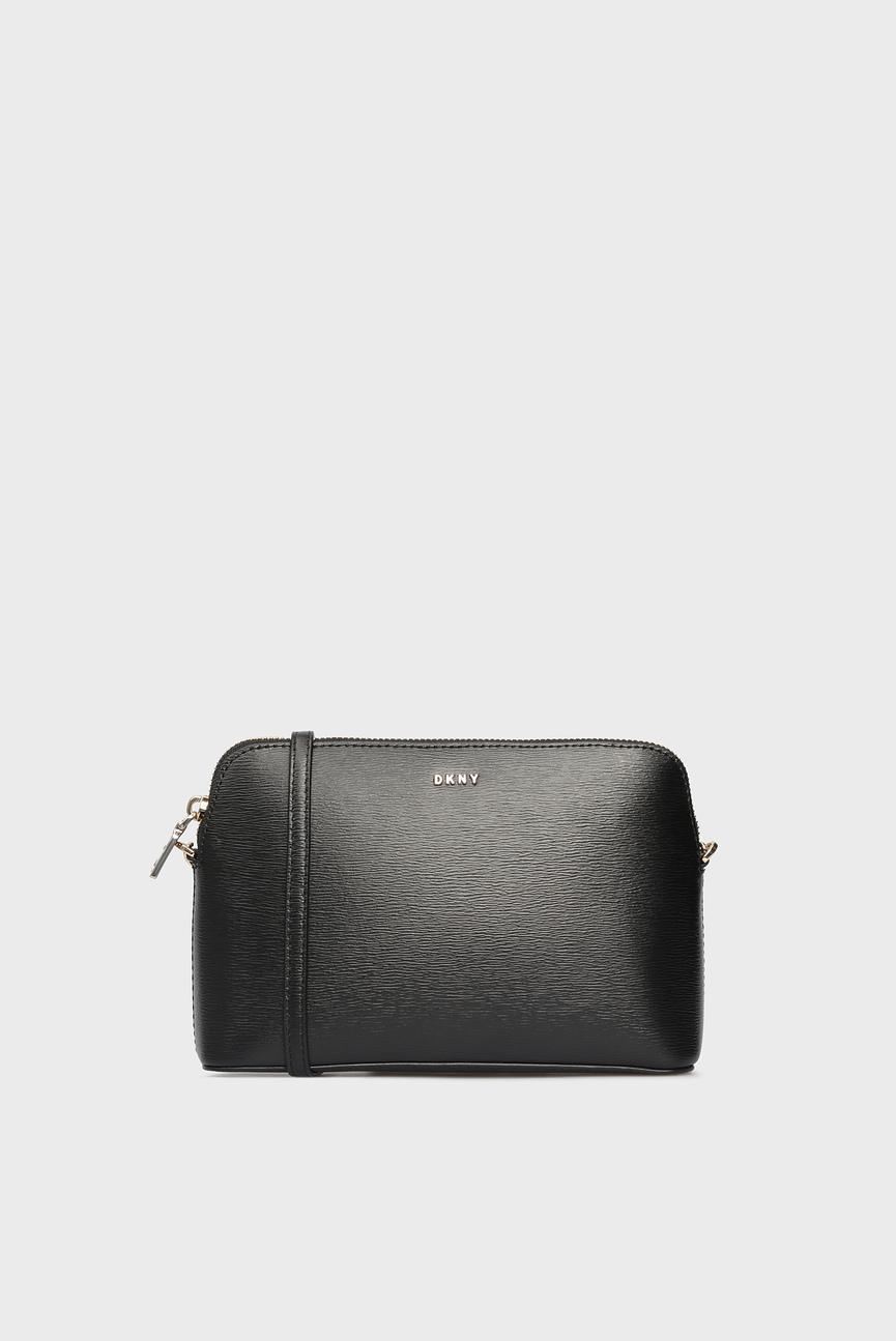 Женская черная сумка через плечо BRYANT-DOME