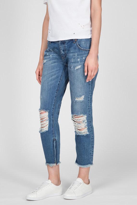 Женские синие джинсы PACIFICA FREEBIRDS