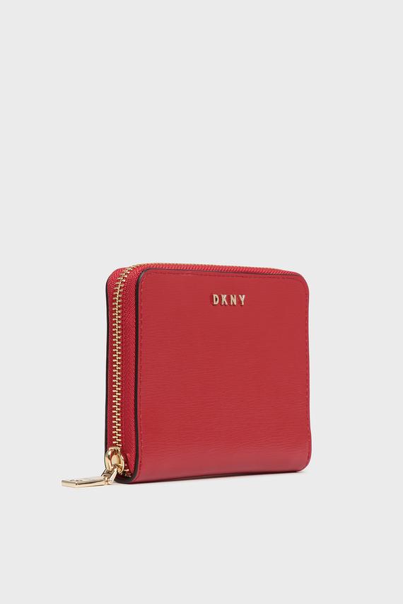 Женский красный кожаный кошелек Bryant