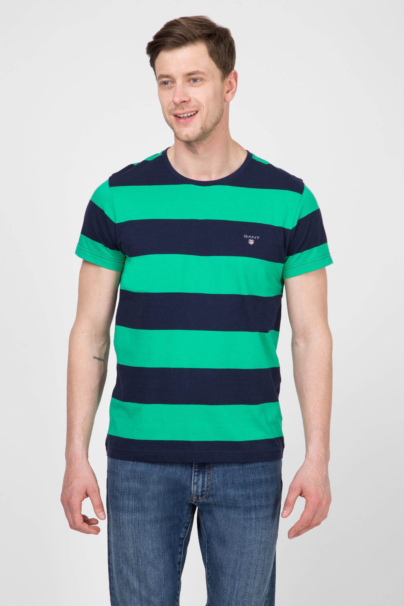 Купить Мужская футболка в полоску THE ORIGINAL Gant Gant 234133 – Киев, Украина. Цены в интернет магазине MD Fashion
