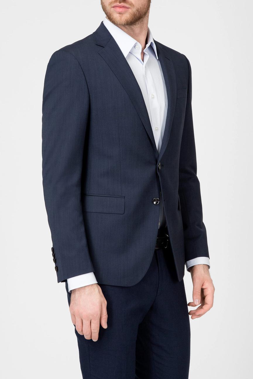 Мужской темно-синий пиджак