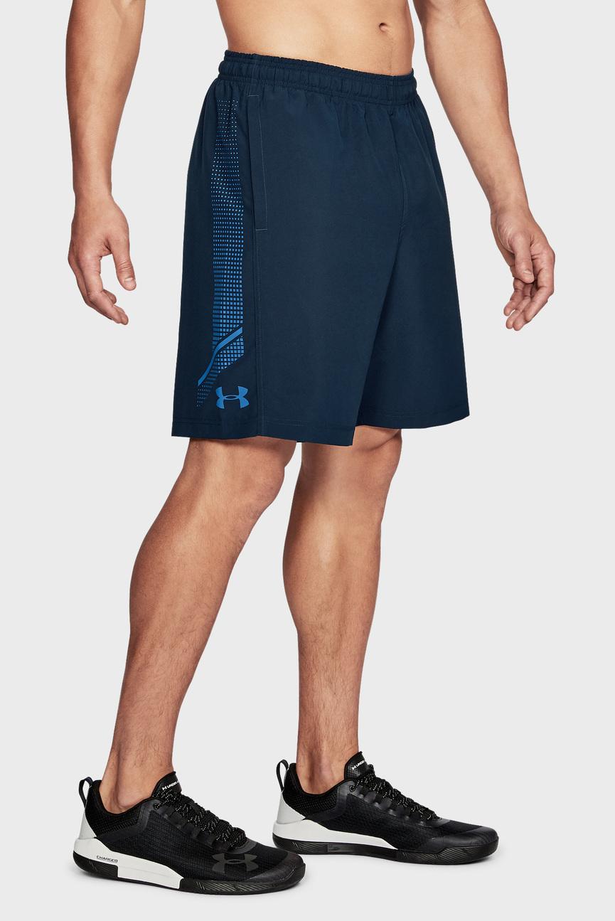 Мужские синие шорты Woven Graphic Short