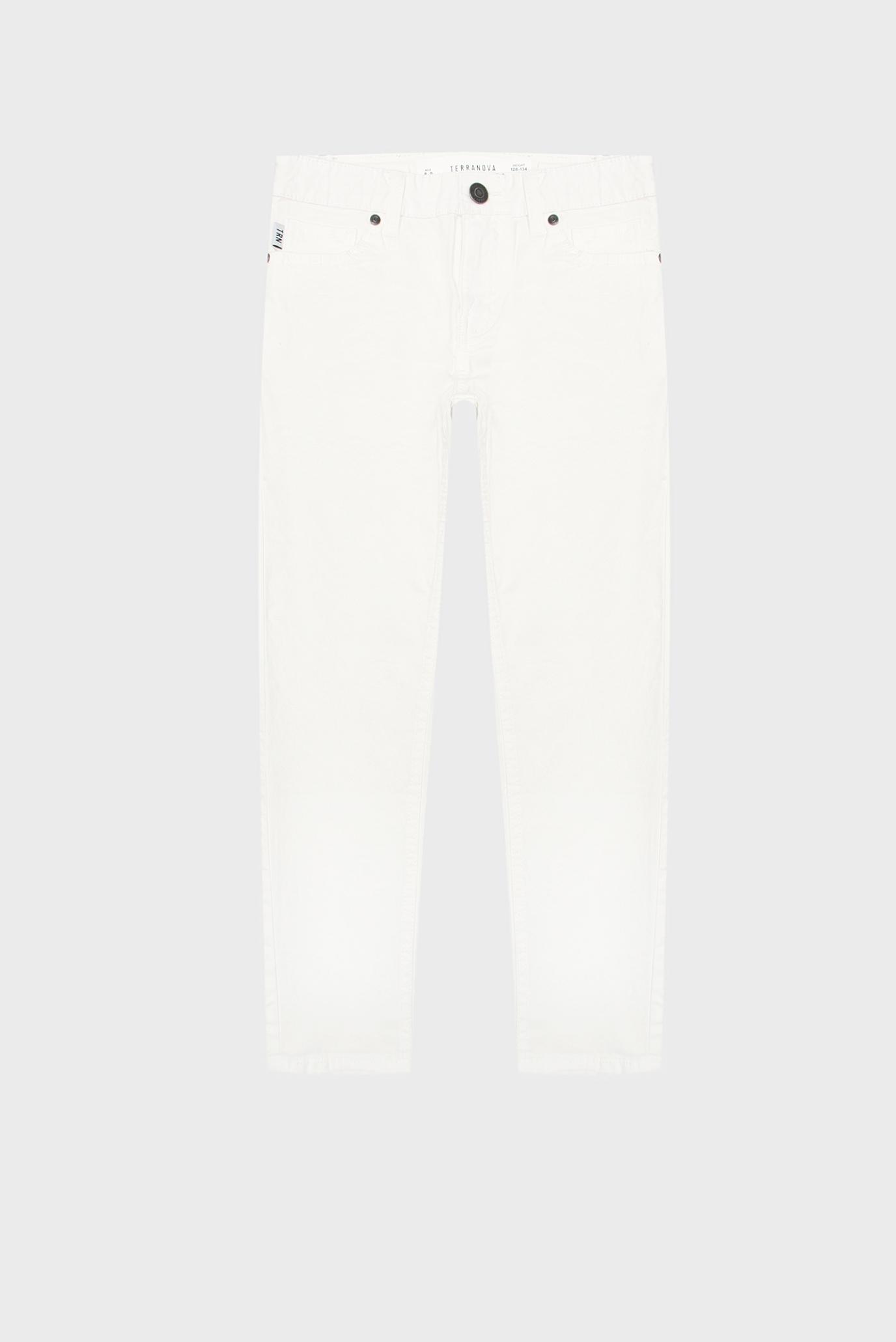 Дитячі білі джинси 1