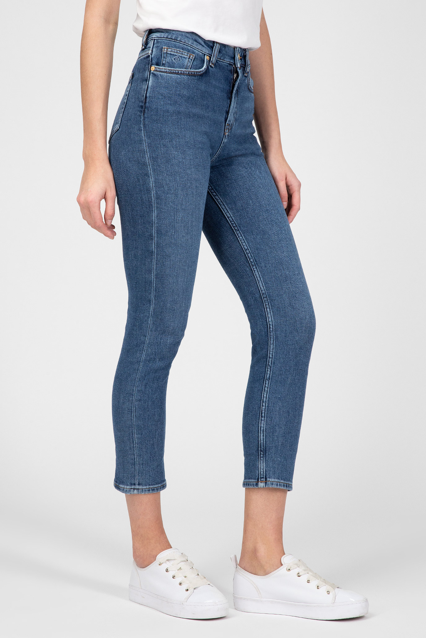 Купить Женские голубые джинсы  Gant Gant 4100061 – Киев, Украина. Цены в интернет магазине MD Fashion
