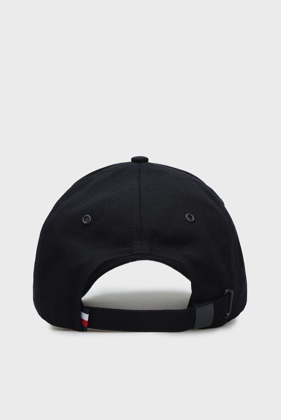 Мужская темно-синяя кепка ROUND PATCH