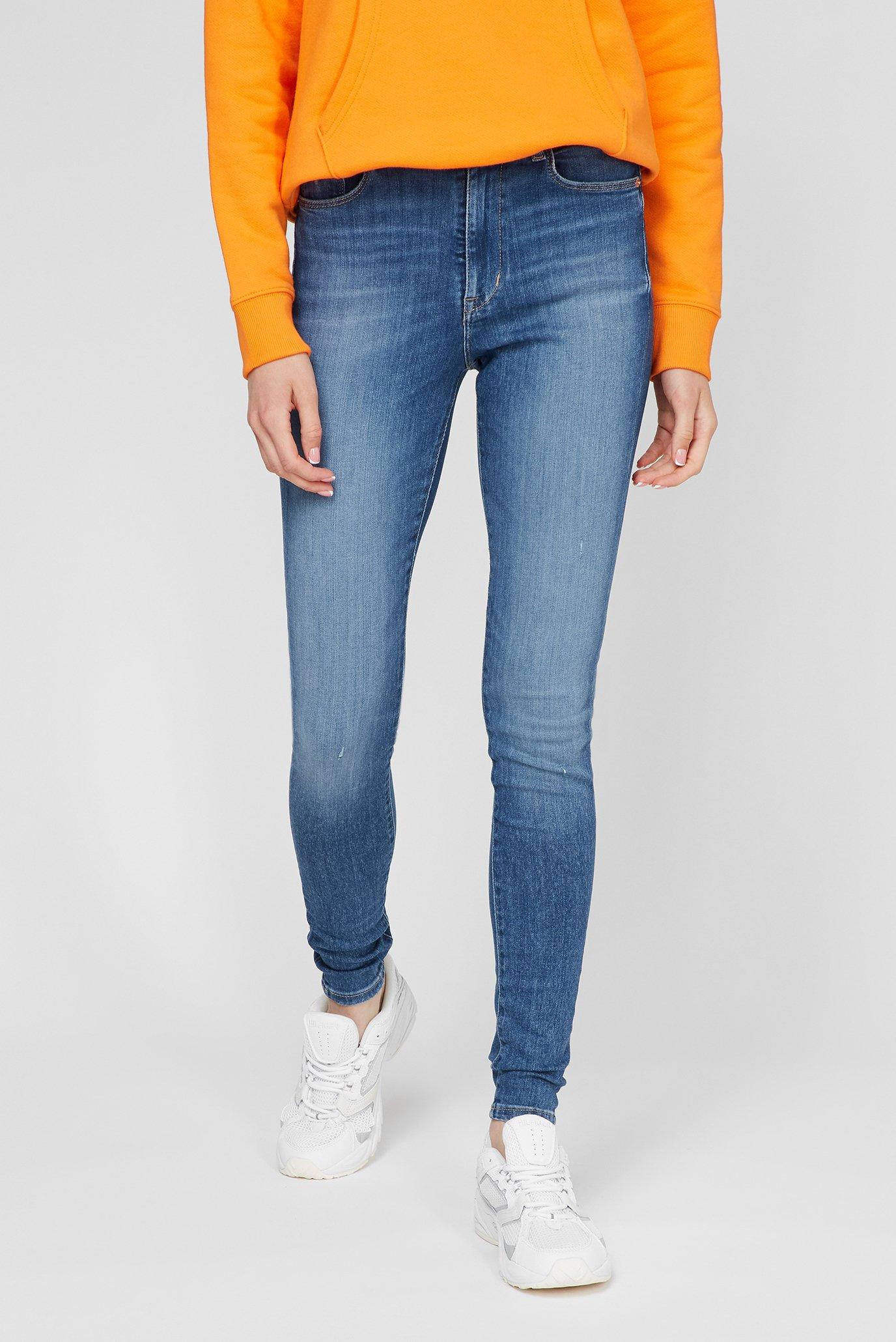 Жіночі сині джинси SYLVIA HR SPR SKNY AE133 MBS 1