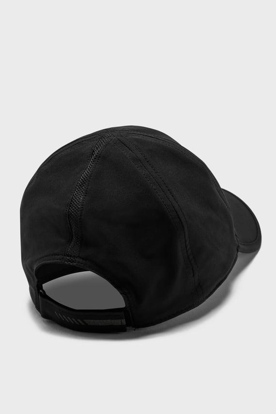 Черная кепка UA Run Shadow Cap