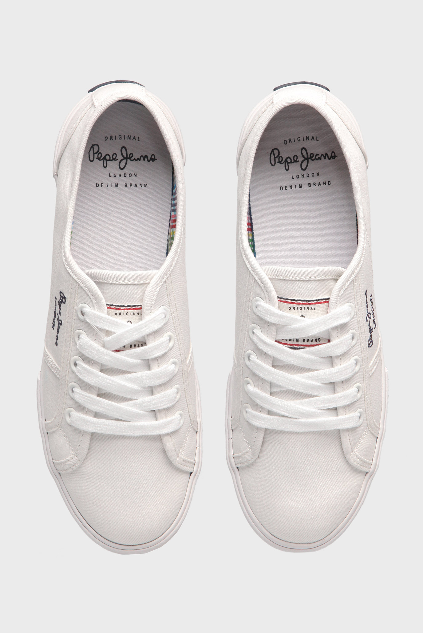Купить Женские белые кеды Pepe Jeans Pepe Jeans PLS30500 – Киев ... 1ffdfc95051c9