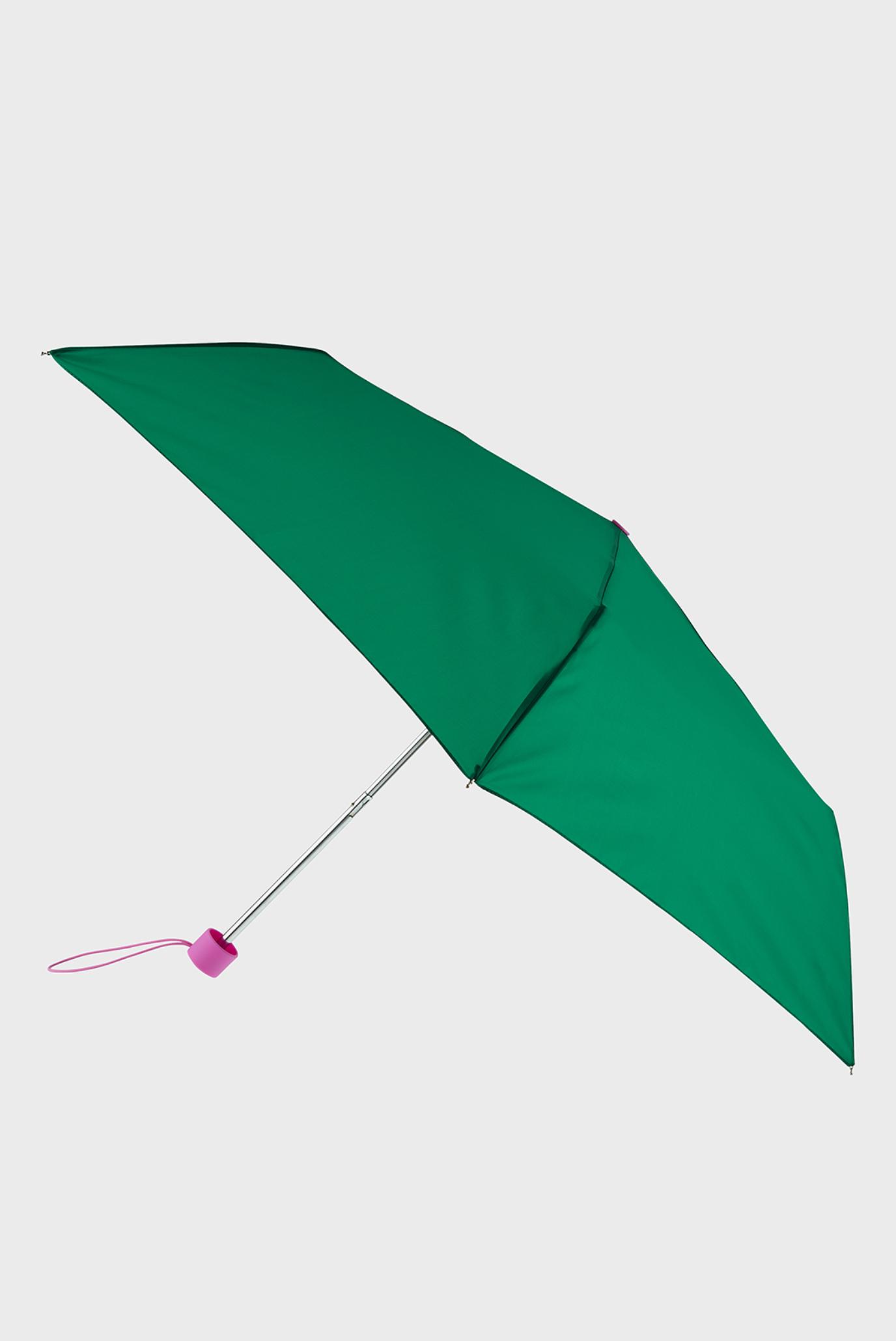 Женский зеленый зонт COLOUR BLOCK 1