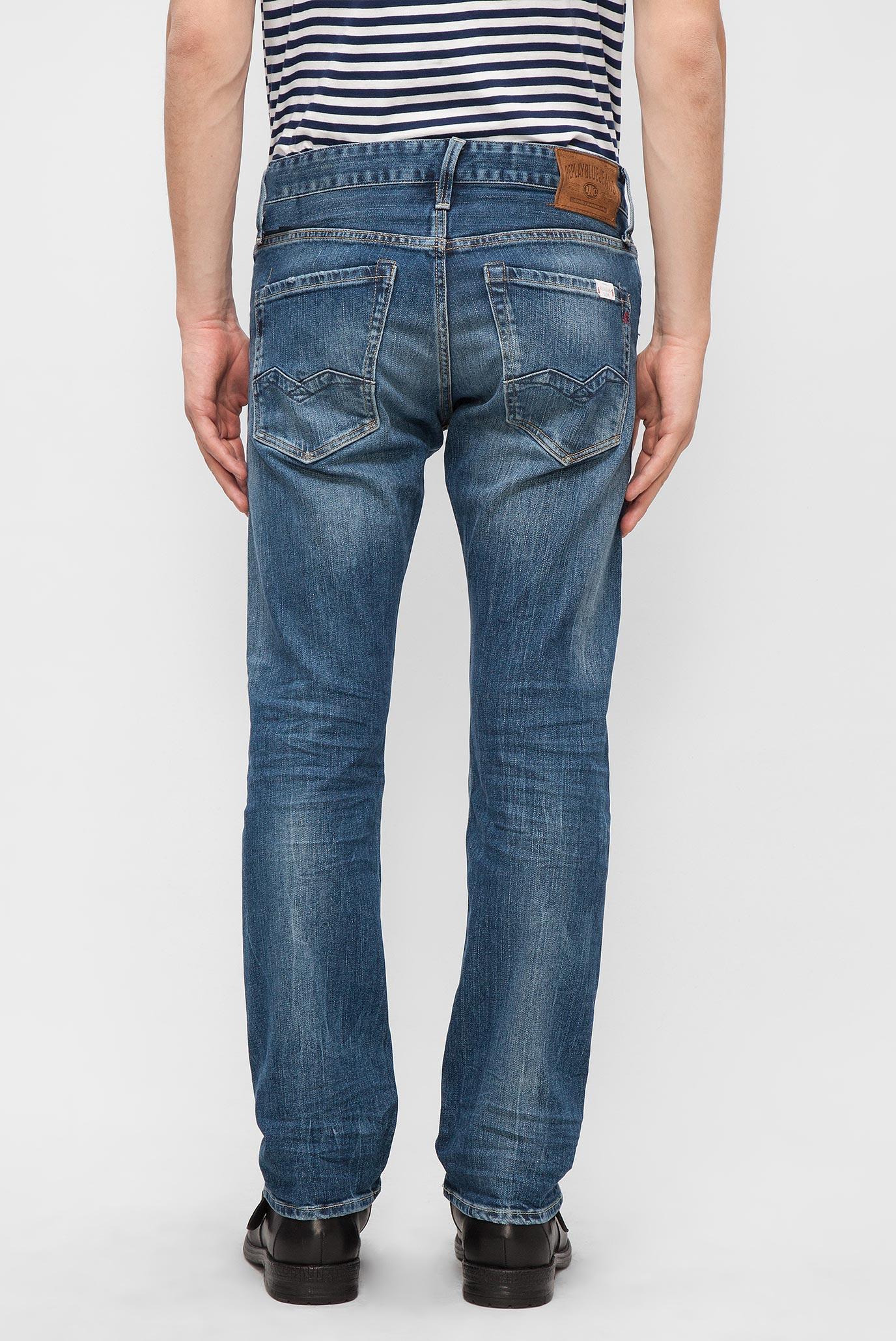 Мужские синие джинсы WAITOM Replay