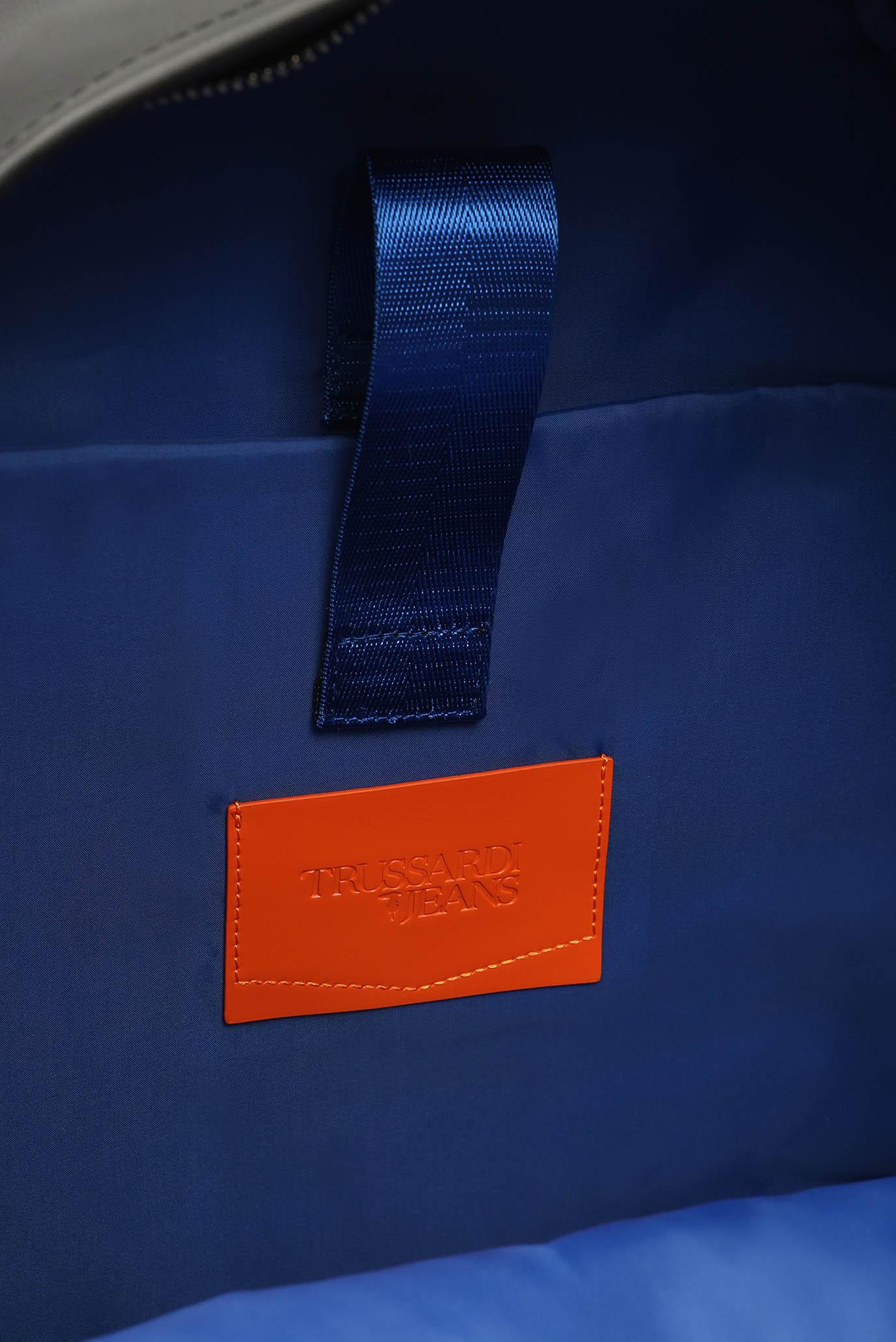 Купить Мужской черный рюкзак BUSINESS  Trussardi Jeans Trussardi Jeans 9Y099999/71B00112 – Киев, Украина. Цены в интернет магазине MD Fashion