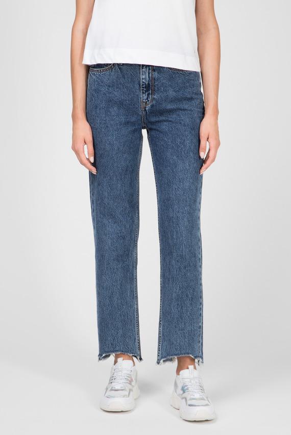 Жіночі сині джинси CLASSIC STRAIGHT HW C MELA