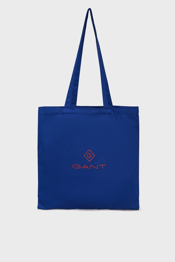 Женский синий шоппер