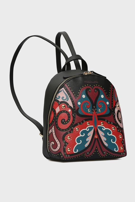Женский черный рюкзак TWENTY-THREE FABOULOUS