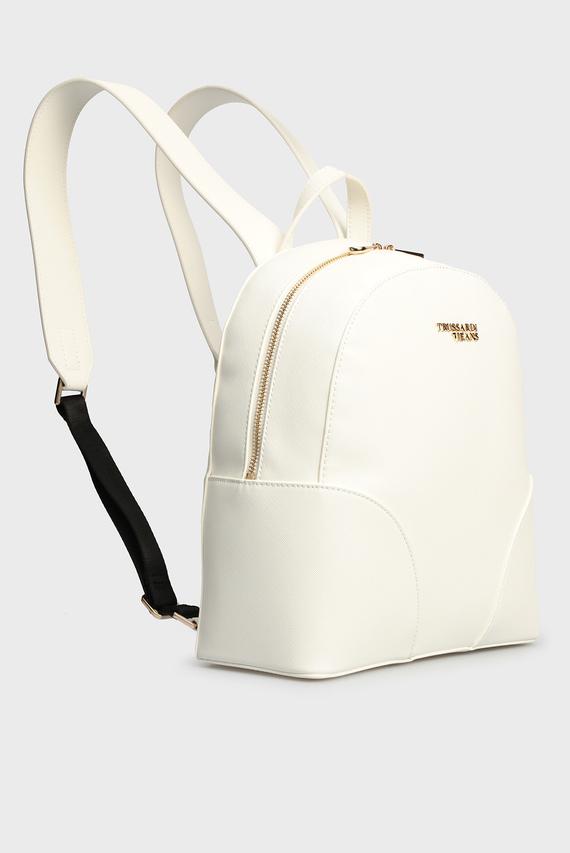 Женский белый рюкзак BELLA