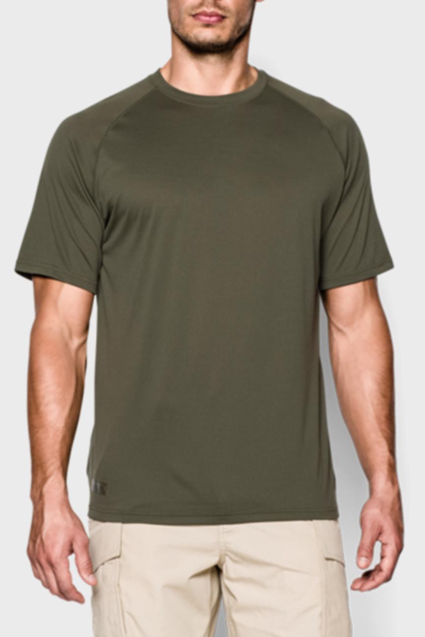 Мужская зеленая футболка UA TAC Tech T