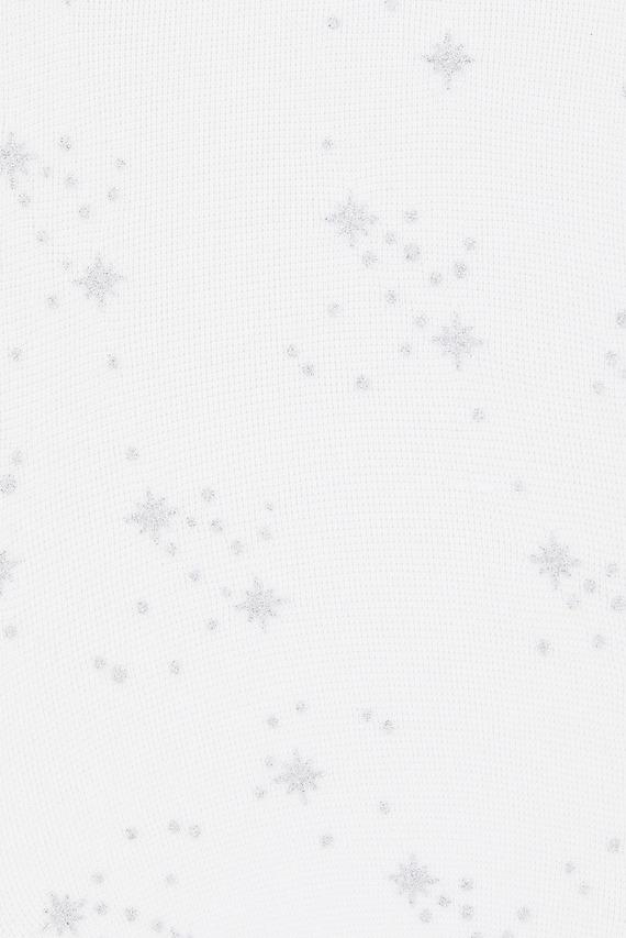 Детские белые колготы GIRLS SNOWFLAKETIGHT