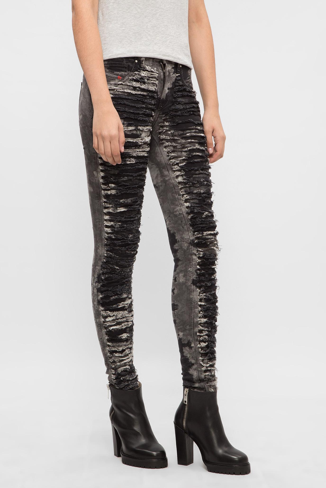 Купить Женские серые джинсы DHARY  Diesel Diesel 00S594 0686N – Киев, Украина. Цены в интернет магазине MD Fashion
