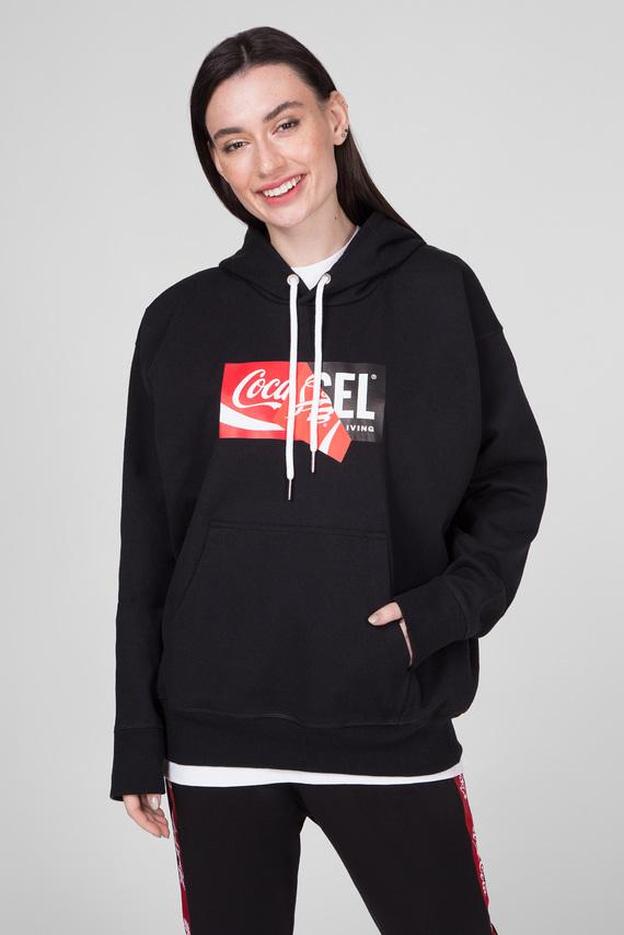 Черное худи CC-S-ALBY-COLA