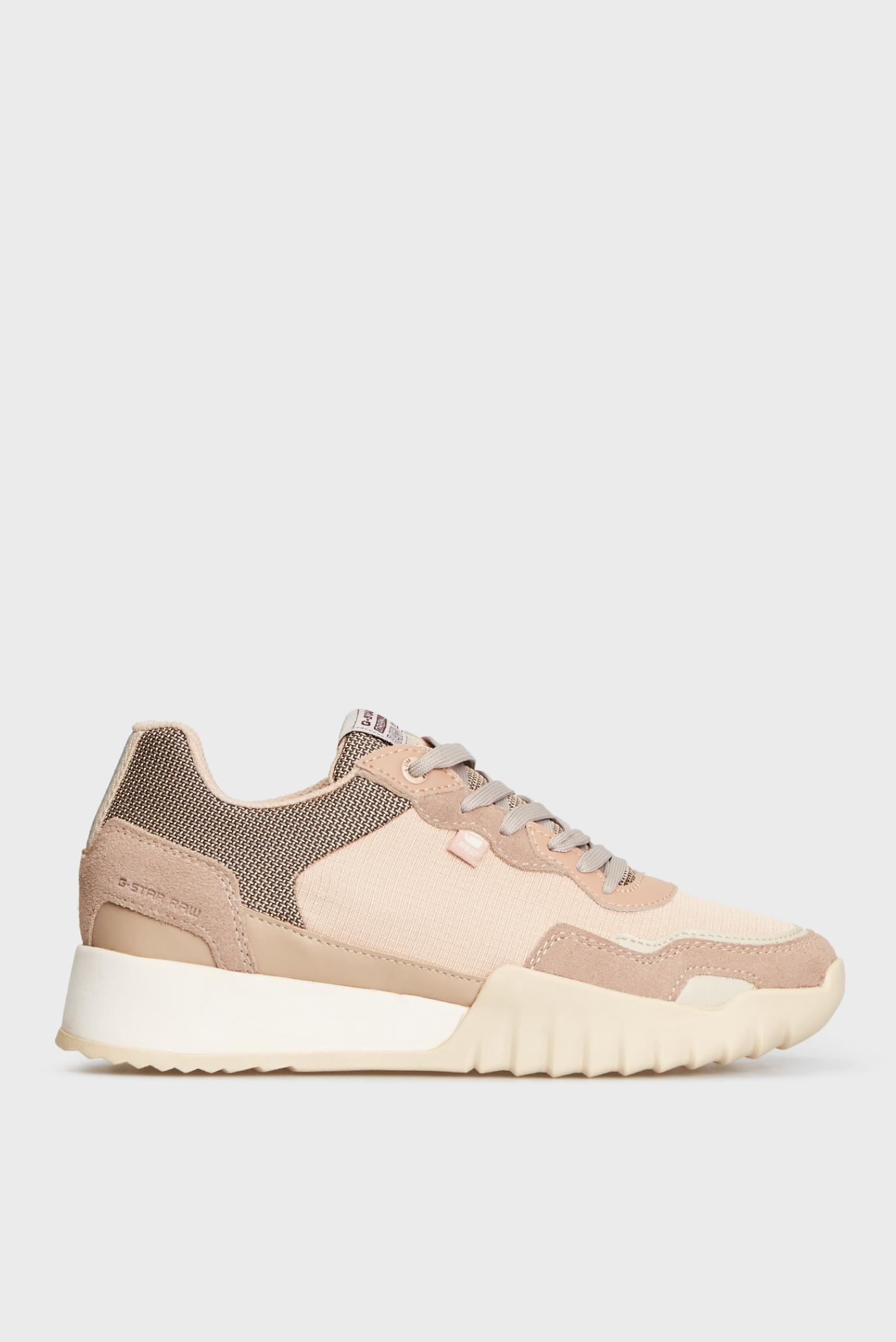 Жіночі пудрові кросівки Rovic II 1